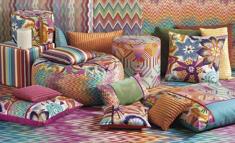 Декор ткани в интерьере