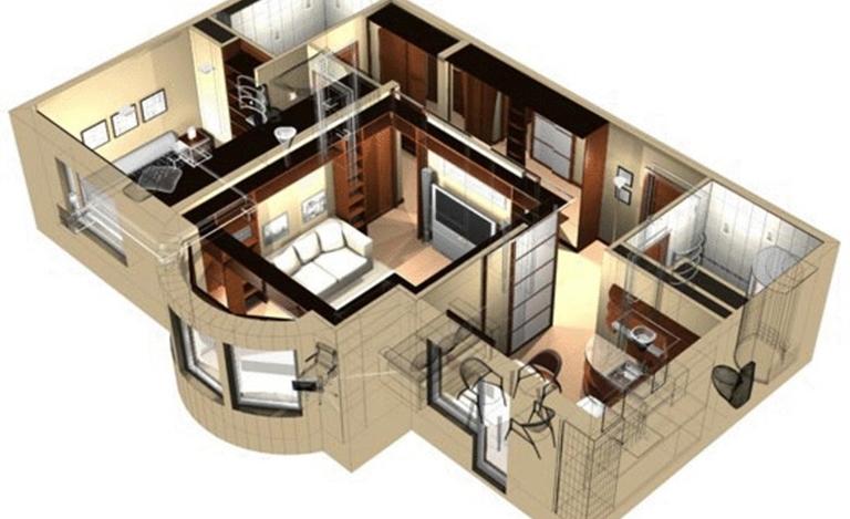 Проектирование дизайна интерьера с использованием средств ПК