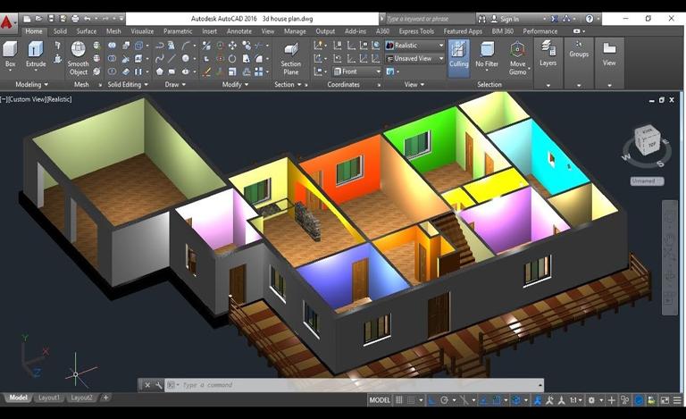 «Autodesk AutoCAD. 3D-моделирование и визуализация»